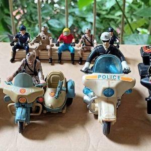 μοτοσυκλέτες και μοτοσυκλετιστές, φιγούρες δεκαετίας '90