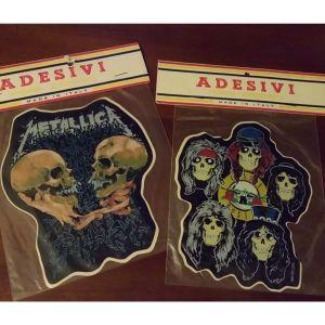 2 Vintage Αυτοκολλητα ''Metallica''