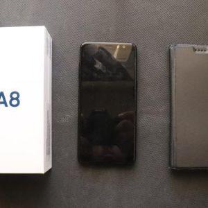 Samsung Galaxy A8 Dual Sim (Μαύρο)
