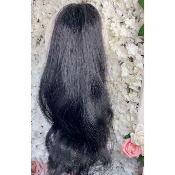 alogooura - Ponytail - Human Hair- 100% anthropini tricha