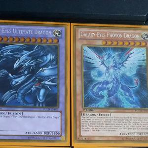 ultimate dragon and photon dragon Gold Rare