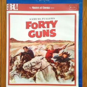 Forty Guns Blu ray - DVD (Dual Format)