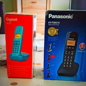 Ασύρματα τηλέφωνα ΚΑΙΝΟΥΡΓΙΑ (Σταθερής τηλεφωνίας σε πολυ καλές τιμές).