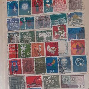 660  Γραμματόσημα  δεκαετίας  1950 -1960