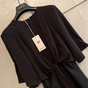 REGALINAS. Μοδερνο Κομψο Μαυρο Φορεμα. Καινουργιο. Small