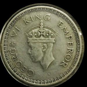 One rupee India.