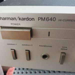 ΕΝΙΣΧΥΤΗΣ  STEREO  HARMAN  KARDON   PM - 640  ,  ΑΨΟΓΟΣ