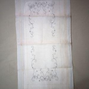 Κέντημα σεμέν με πετσετάκια