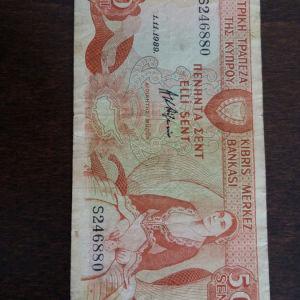 Κυπριακό χαρτονόμισμα