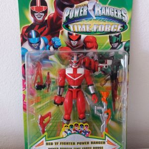 POWER RANGERS - TIME FORCE(BANDAI)2001
