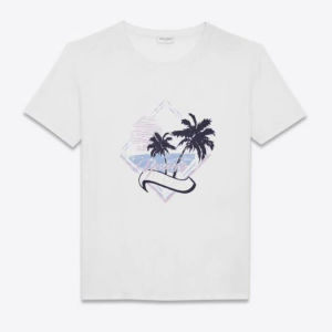Brand new white Saint Laurent t-shirt