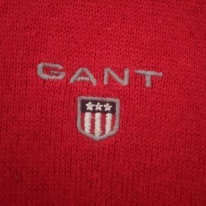 GANT LARGE   COTTON WOOL Ανδρικό πουλόβερ