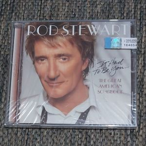 ROD STEWART - IT HAD TO BE YOU 2002 MADE IN EUROPE ( Αχρησιμοποίητο - σφραγισμένο στη θήκη του )