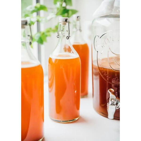 spitiki kampoucha. Kambucha tea. 3litres