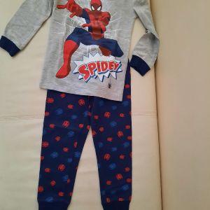 Πυτζάμα spiderman Marks & Spenser's no 3-4 (104cm)