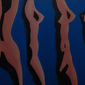 πινακας 1[80x100 cm] απο 12  ΓΥΜΝΑ ΚΙΝΗΤΙΚΑ . λαδια απο ζωγραφο αντωνη στεφανακο