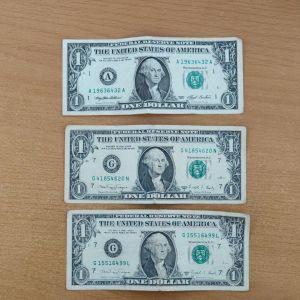 1 δολάριο Αμερικής, 1988 και 1993