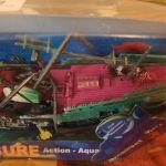 Διακοσμητικο Ενυδρειου Βουλιαγμενο Πλοιο Με Παροχη Οξυγονου