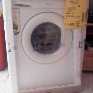 Καινούργιο πλυντήριο ρούχων Whirlpool AWM 5500