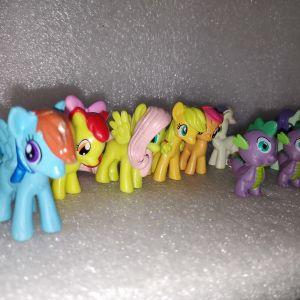 12 Φιγουρες Μικρο Μου Πονυ - My Little Pony