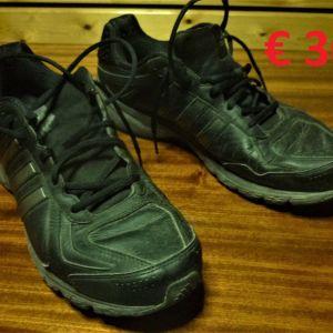 Παπούτσια Αθλητικά Adidas Νο48, Δερμάτινα, πάρα πολύ γερά και άνετα, Σχεδόν Αχρησιμοποίητα! Εξαιρετικής Ποιότητας σε πολύ καλή κατάσταση!