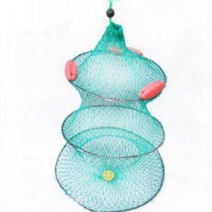 Ψαροκάλαθο πανινο με 3 πλωτηρες.