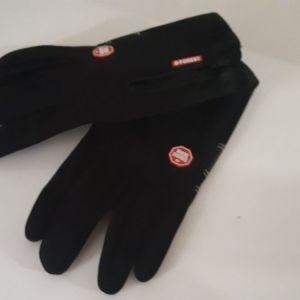 γάντια μηχανής και αφής για οθόνη No Large