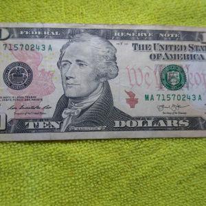 χαρτονομίσματα δολάρια των 10 ..5..του 1 ...του 2013 ...ΣΟΒΑΡΕΣ ΠΡΟΤΑΣΕΙς ΠΑΡΑΚΑΛΩ
