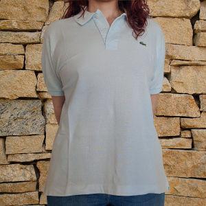 Αντρικό Polo Lacoste γαλάζιο μπλουζάκι