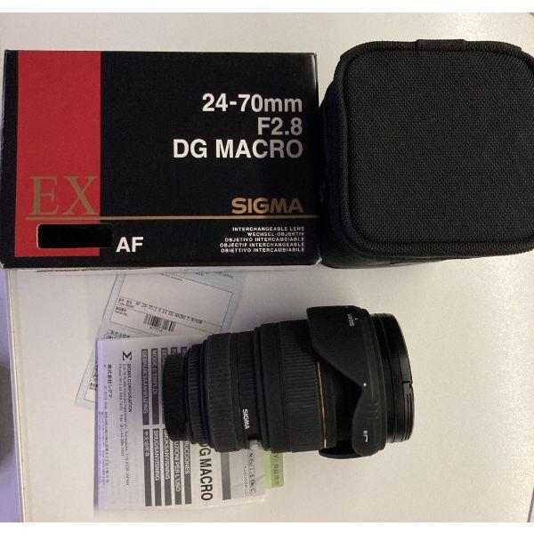 Sigma fakos 24-70 F2.8