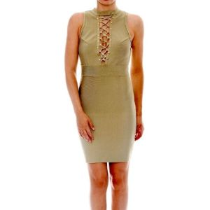 Wow couture bandage φόρεμα καινούριο νο large