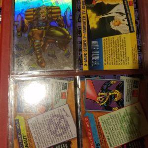 X-men 2 skybox 1993 Πληρη συλλογη απο καρτες x-men σε τελεια κατασταση