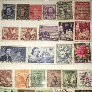 Γραμματόσημα από Αυστραλια