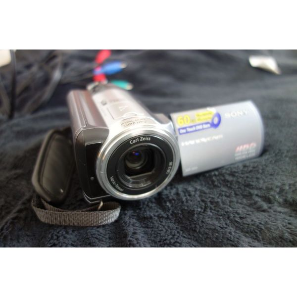 SONY HDR-SR70. Made in JAPAN