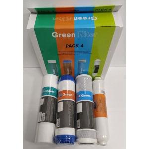 Φίλτρα νερού Green filter pack 4