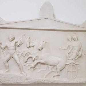 Αναθυματικο αμφιγλυφο αναγλυφο 410 π.Χ