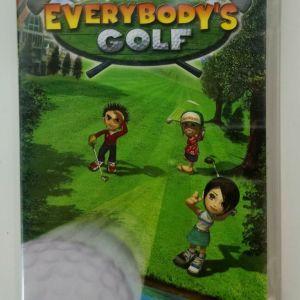 EVERYBODY'S GOLF SONY PSP EUROPEAN PAL NEW SEALED