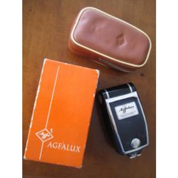 Antika Agfa Agfalux German Foldable Flash