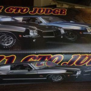 *LIMITED* 1971 PONTIAC GTO JUDGE 1 OF 600 / GMP / 1:18 - BLACK / DIECAST