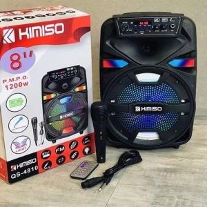 "KiMiSo QS-4810 Ασύρματο φορητό ηχείο καραόκε Bluetooth 8 """