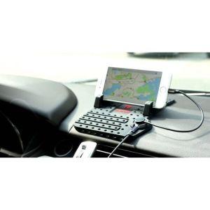 Εύκαμπτη βάση στήριξης αυτοκινήτου με έξυπνο σύστημα φόρτισης για smartphone - iphone