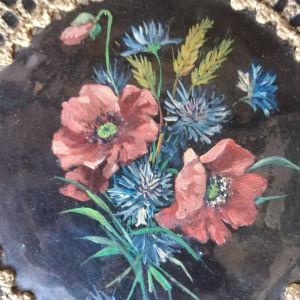 πιάτο τοίχου ζωγραφιστό παλαιάς εποχής