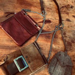 Τσάντα Επώνυμη Γνήσιο Δέρμα Ιταλίας