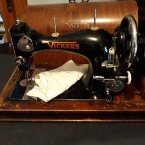 Ραπτομηχανή Vickers / Vintage Αντίκα