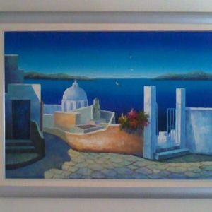 Μοντέρνος πίνακας ζωγραφικής 110x80cm
