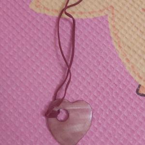 Κολιε με σχήμα καρδιας
