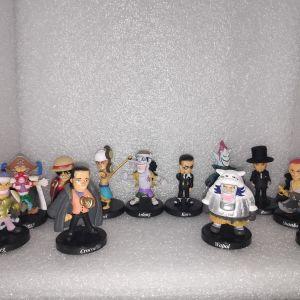 12 Φιγουρες Μινιατουρες One Piece