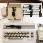Commodore 64C + Commodore 1541-II Floppy Disk Drive