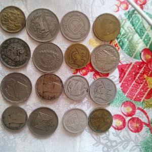 16 κερματα ΑΙΓΥΠΤΟΥ