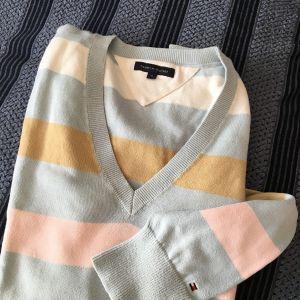 Πλεκτό ριγέ πουλόβερ Tommy Hilfiger